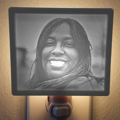 Beautiful Custom Lithophane nightlight