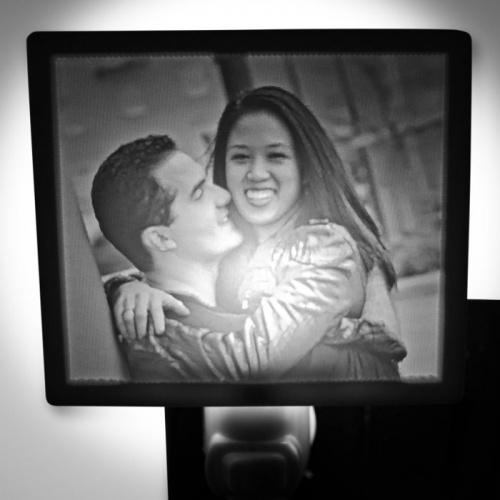 Happy Couple Lit nightlight