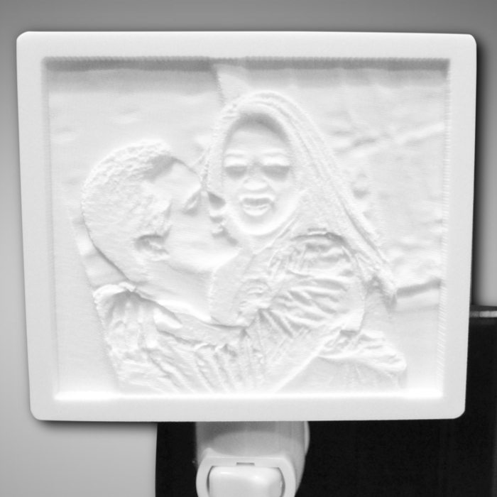 Happy Couple Unlit nightlight