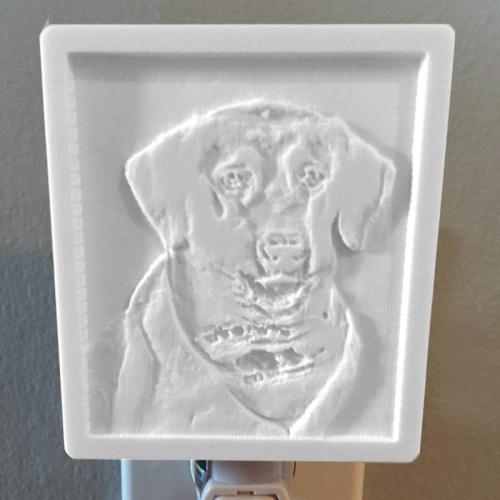 Service Dog Memorial Unlit