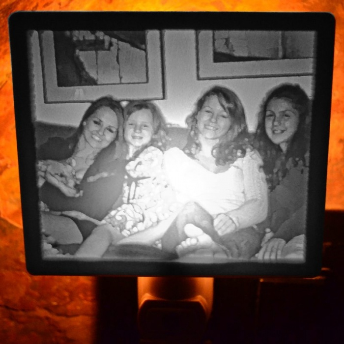 Smiling Faces Lithophane 2