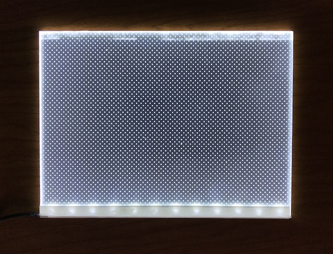 6x8 led light panel backlight lithophanes