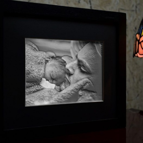 5x7-Framed-Lithophane-Dad-lit