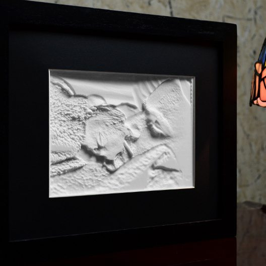 5x7-Framed-Lithophane-unlit-Dad