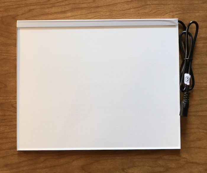 8x10 Lithophane Light Panel