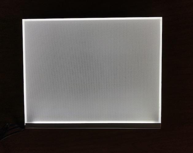 8x10 backlight for lithophane