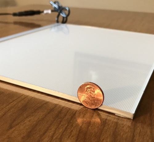 lithophane light panel led